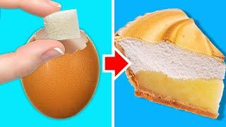30 EGG-CEPTIONALLY YUMMY MEALS || Dessert Recipes and Eggshell Life Hacks for Home Decor