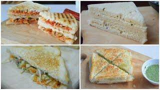 4 VEG SANDWICH (RAMADAN SPECIAL) by YES I CAN COOK