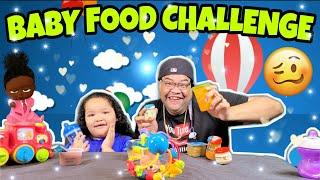 3 JARS IN 3 MINS BABY FOOD CHALLENGE BY EPIC EMPIRE #withme