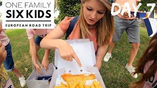 DAY 7 - THE BEST OF ENGLISH FOOD  ///  EUROPEAN ROAD TRIP WITH 6 KIDS