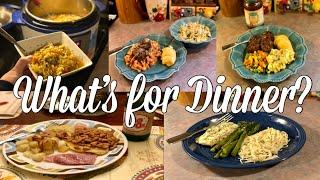 What's for Dinner?| Easy & Budget Friendly Family Meal Ideas| January 2020