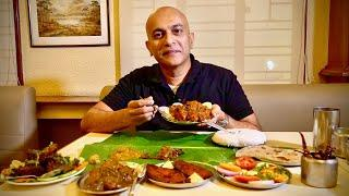Full-On ANDHRA NON-VEG Meal At BHEEMA'S | Biryani, Mutton Pepper Fry, Guntur Chicken, Chilli Chicken