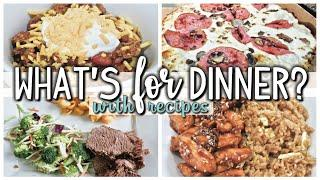 WHAT'S FOR DINNER | EASY DINNERS | COOK WITH ME  | AUGUST 8-14