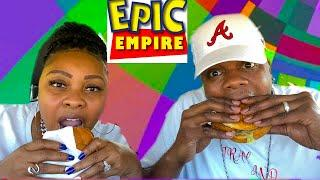 [Whats For Dinner] SPICY CHICKEN MUKBANG! (Epic Empire Mystery Challenge!)