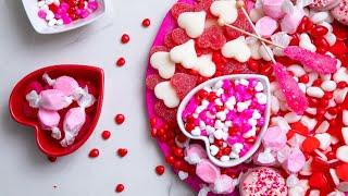 CANDY Charcuterie Boards! | Perfect Valentine's Day Party Treats | How To Cake It Step By Step