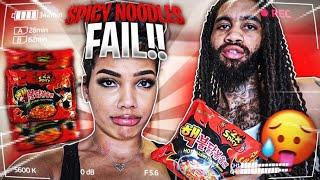 Spicy Noodle Challenge... **EPIC FAIL** I CAN'T BELIEVE Y'ALL!!!