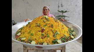 POHA RECIPE BY MY GRANNY | POHA RECIPE IN HINDI | HOW TO | ASMR | VILLAGE FOOD | VEG RECIPES