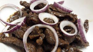 Bistek Tagalog/Beefsteak /Filipino Beef Steak Recipe