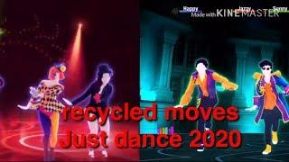 Just dance 2020 Recycled Moves #1
