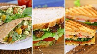 3 Back to School Sandwich Recipes | Collab with Mind Over Munch