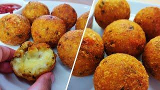 Cheese Balls Recipe | Crispy Potato Cheese balls | Easy Party Snack Recipe | चीज़ बॉल्स रेसिपी |