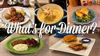 What's for Dinner| Easy & Budget Friendly Family Meal Ideas| March 2020