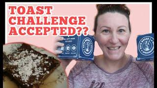 Keto What I eat in a day to Lose Weight / TOAST CHALLENGE Accpeted