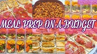 FAMILY MEAL PREP | SNACKS, LUNCH, BREAKFAST IDEAS + RECIPES EASY | MEAL PREP August Meal Ideas 2019
