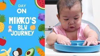 BABY LED WEANING DAY 1 | MIKKO'S MENU | Mommy Nikki | Taglish | PH