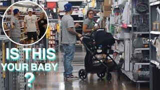 IS THIS YOUR BABY PRANK **IN PUBLIC**