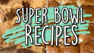 *TWO* EASY SUPER BOWL RECIPES | SUPER BOWL PARTY FOOD 2020