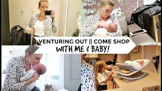 VENTURING OUT || COME SHOP WITH ME & BABY!