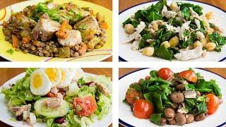 4 Healthy Lunch Ideas To Lose Weight | Easy Healthy Recipes