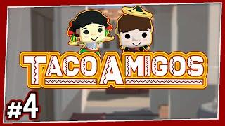 Taco Amigos - #4 - THE CRITIC!! (4-Player Diner Bros Gameplay)