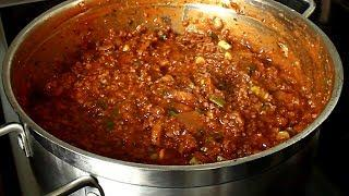Beef Bolognese  Quick and Easy Bolognese ITALIAN RECIPES | Chef Ricardo Cooking