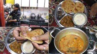 Desi Style Lunch Routine || Indian Special  Lunch routine || My Dussehra Special Lunch Thali 2019.