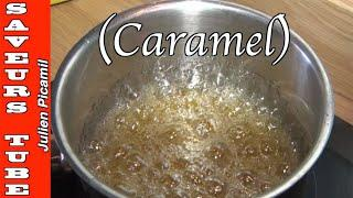 How to make a Golden Caramel for all desserts, Caramel Dome, with The French  Baker Chef Julien.