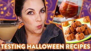 Trying the Most Popular Halloween Recipes on TikTok and Pinterest