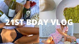"HEALTH VLOG: ""cheat"" day, 21st bday in quarantine, healthy meal ideas, + charcuterie board"