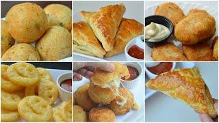 5 POTATO SNACKS FOR IFTAR by (YES I CAN COOK)