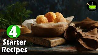 Easy Starters Recipes | Appetizer Recipes | Quick & Delicious Party Starters | Party Snacks Ideas