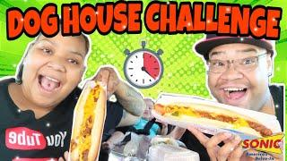 THE DOG HOUSE CHALLENGE BY EPIC EMPIRE | HOT DOG, CORN DOG, FOOT LONG HOT DOG & A SAUSAGE DOG withme
