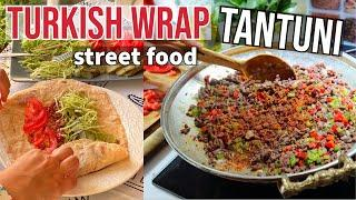"Turkish Wrap ""Tantuni"" With Ground Beef & Lavash Bread Recipe"