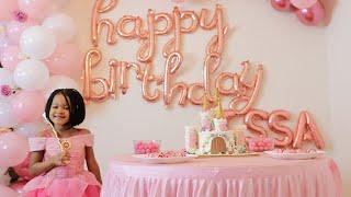 ISSA'S 4TH BIRTHDAY PARTY SPECIAL @HOME  - THE ULTIMATE PRINCESS THEME DECOR (Quarantine Style)