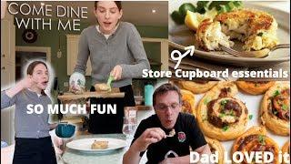 I tried making a 3 course meal for my family *they LOVED it*