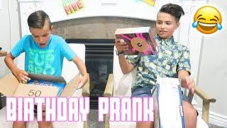 BIRTHDAY PRESENT PRANK | GETTING PRANKED AT BIRTHDAY PARTY | PRANKING THIS IS HOW WE BINGHAM