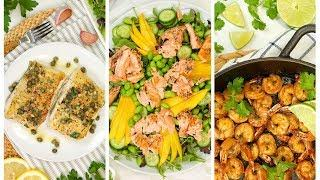 3 Easy Fish & Seafood Recipes | Healthy Meal Plans 2020