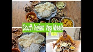 வெஜ் மீல் | South Indian Veg Meals with English subtitles | 15 dishes | South Indian Thali