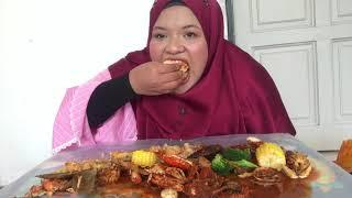 eating shellout lambak !!
