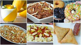 6 IFTAR SWEET DISHES by (YES I CAN COOK)