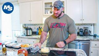What Pro Bodybuilders Eat For Breakfast | Antoine Vaillant's Morning Meal