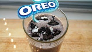 ОРЕО-ШЕЙК. Как сделать молочный коктейль OREO|HOW TO MAKE AN OREO MILKSHAKE