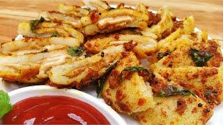 New Recipe of Creamy Suji Snack, Yummy Indian Evening Snack Recipe in Hindi by Indian Food Made Easy