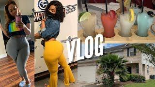VLOG | POOL PARTY + BDAY DINNER + HOUSE SHOPPING & MORE | Gina Jyneen