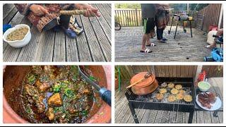 BBQ Party At Home /BBQ Chicken Handi Recipe By Yasmin Cooking