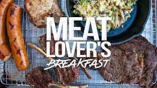 The Ultimate Breakfast for MEAT LOVERS | SAM THE COOKING GUY 4K