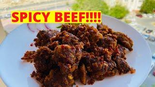 Beef Chilli || Kerala Style || Spicy recipe in 2 minutes || English recipe