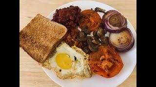 Simple and Delicious English Breakfast, English Food , English Breakfast Recipe.
