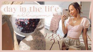 HAPPY DAY IN THE LIFE | picking blueberries, baking, & yummy meal ideas! ✨