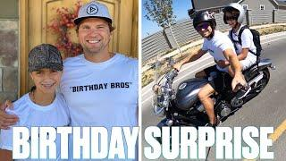 UNCLE SURPRISES NEPHEW WITH EPIC BIRTHDAY CELEBRATION | BIRTHDAY BROS SHARED BIRTHDAY SURPRISE